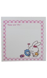 BLOCO POST IT 75X75MM 050F DECORADO KAZ