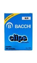 CLIPE GALV 8/0 C/ 500G BACCHI